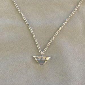 Authentic Emporio Armani sterling silver necklace